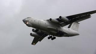 Loud Ilyushin IL-76TD - Landing