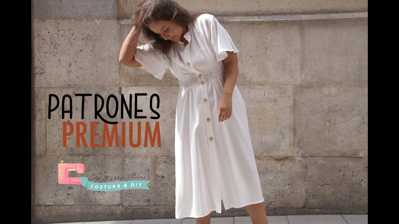 Vestido Blanco mujer (tallas 36 a 44)