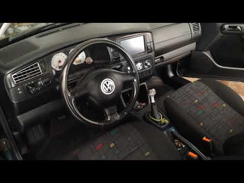 Volkswagen Golf 3 (put steering wheel from MK IV and 2Din radio)