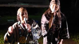 北海道旭岳温泉。ヌプリコロカムイノミ というアイヌ祭り。http://town....