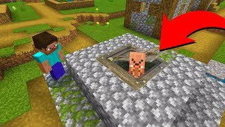 Something is hiding in this Minecraft village well.. (Scary Minecraft Video)