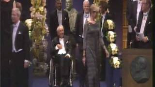 Nobel Prize 2011 - The Entrance.
