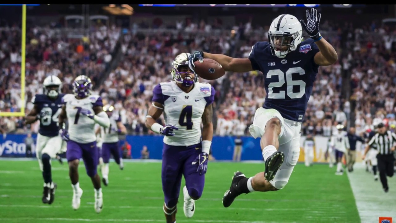Penn State football: Saquon Barkley\'s 92-yard Fiesta Bowl touchdown ...