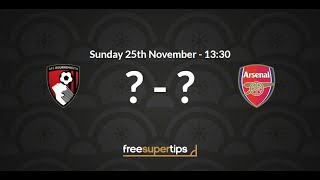 Bournemouth vs Arsenal Predictions, Betting Tips and Match Preview Premier League