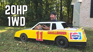 World's Fastest 1WD Go Kart?! | Built 212 Swap, HUGE Burnouts!