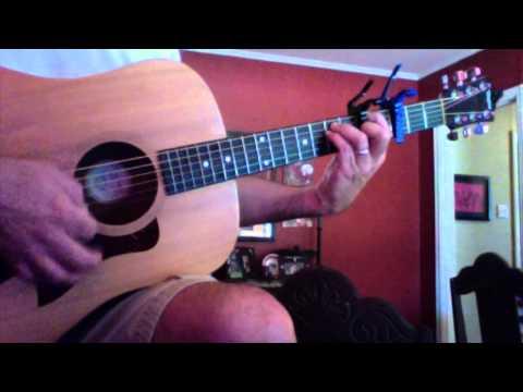 Guitar Lesson: Cut Capo: Chris Tomlin: Waterfall