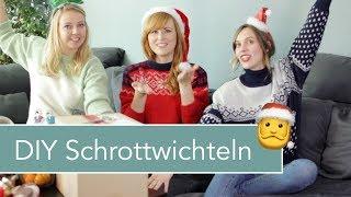 #WirMachenWeihnachten Special: DIY-Schrottwichteln mit Jelena und Liz