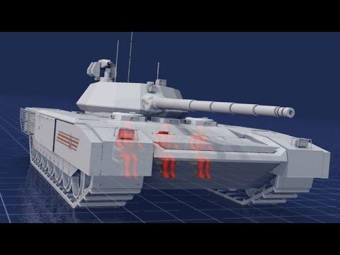 Russia Unveils Its Groundbreaking New Tank