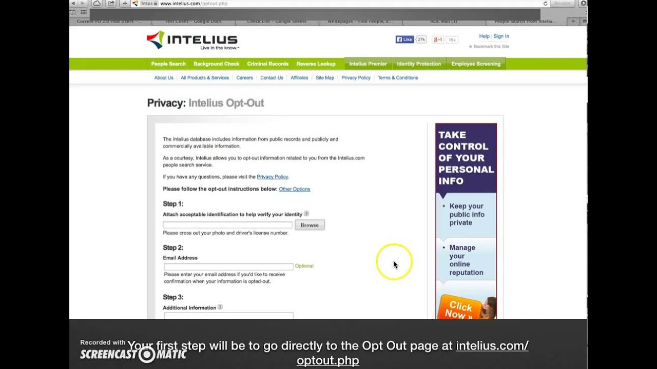 Try Intelius Premier Plus, and if you cancel within the first 7 days and have not yet used a background check voucher you pay only $ Otherwise, you will receive 1 background check voucher per month and be charged $ each month you remain a member. Each voucher will expire in 30 days, if not used. You can cancel at any time.