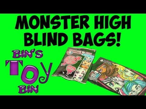 Monster High Blind Bags Fashion Packs Amp Panini Photocards