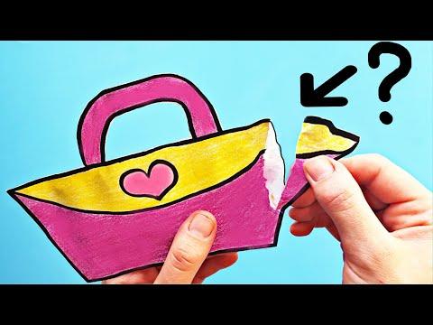 DIY ❤️ Самодельный БУМАЖНЫЙ СЮРПРИЗ ДЛЯ МАМЫ, как сделать своими руками  