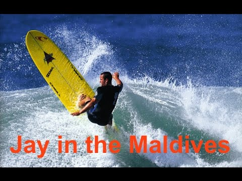 Jay Moriarity surfing in the Maldives, 2001