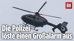 Brutaler Raub: Zwei bewaffnete Männer überfallen eine Hamburger Sparkasse