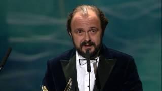 Orły 2017 - Arkadiusz Jakubik odbiera nagrodę w kategorii