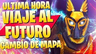 Video de **ULTIMA HORA TEMPORADA 6** VIAJE AL FUTURO EN EL MAPA DE FORTNITE Battle Royale
