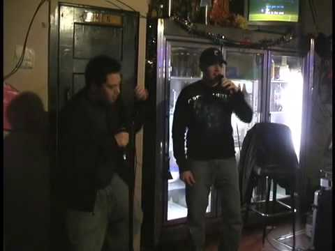 "Rory and Brad karaoke ""In the End"" by Linkin Park in Cincinnati"