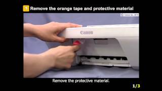 02. PIXMA MG2924: Setting up the Printer