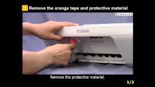 02. PIXMA MG2924: Setting up the Printer