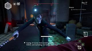 We Happy Few - Britannia: Enter Broadcast Tower & Go To Apple Holm Station: Head To Platform (2018)