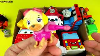 Play Paw Patrol Skye Chase Box Of Toys Vehicles Cars Toy Videos For Kids Toddlers Children Fun Time