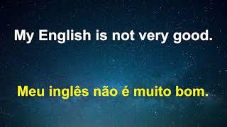 Aprender Inglês Dormindo    130 Frases essenciais em inglês americano  áudio em inglês   português