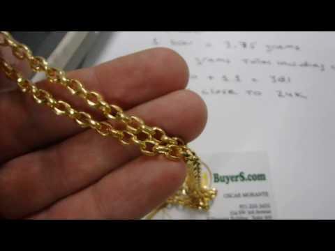 24K Gold Chain - 10 Don Korean Gold Jewelry