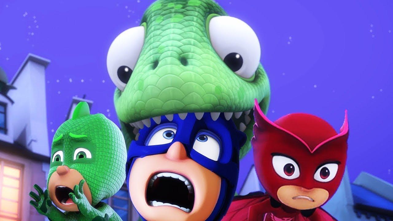 PJ Masks Super Pigiamini 🦖 Lionel-sauro 🌟 Nuovi Episodi | Cartoni Animati