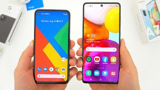 Google Pixel 4a vs Samsung Galaxy A71 Comparison! Which One Is Better?