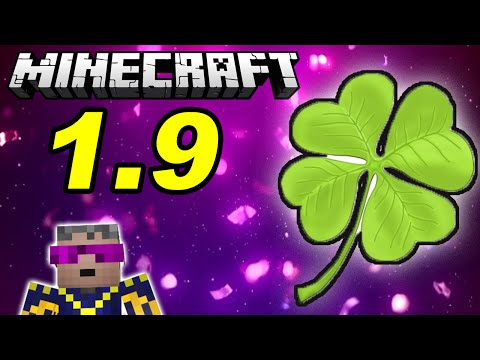 ОБЗОР МАЙНКРАФТ 1.9 ЗЕЛЬЕ УДАЧИ | Minecraft snapshot 15w44b | GeronCraft
