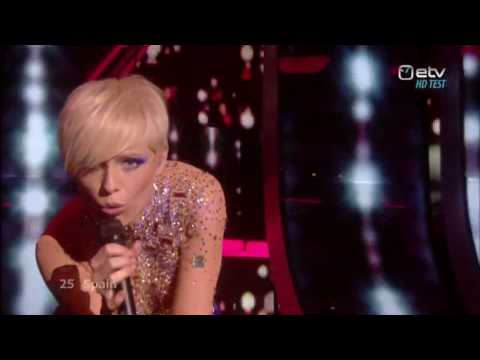 Eurovision 2009 España - Soraya Arnelas - La Noche Es Para Mi HD (Spain)