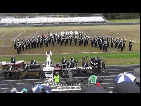 Winfield High School Band - Winfield, West Virginia Festival 2014