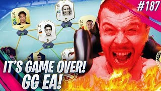 FIFA 19 IT'S GAME OVER! MY FUT CHAMPIONS FINAL GAMES! EA SPORTS WON THE BATTLE AGAIN!