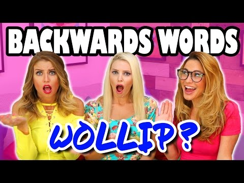 Backwards Word Challenge with Jenn, Lindsey and Julin. Totally TV