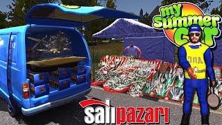 My Summer Car Türkçe // SALI PAZARINDA BALIK SATMAK #36