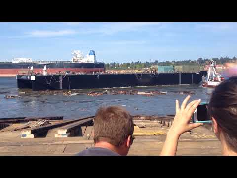 Gunderson, Inc. Barge Launch August 19, 2017