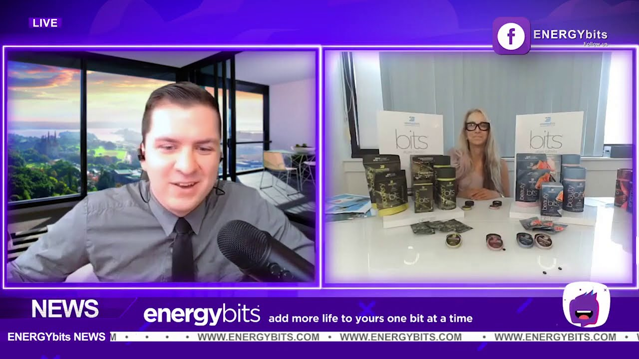 ENERGYBits Interview - Beauty Starts Inside with Algae Tablets!