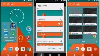 Action Launcher 3. Быстрый функциональный лаунчер в стиле материального дизайна. #Android