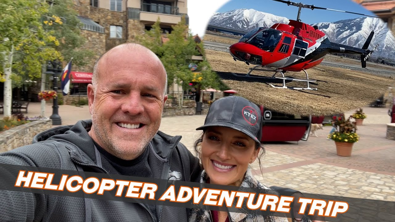 Anniversary Adventure Trip by Helicopter