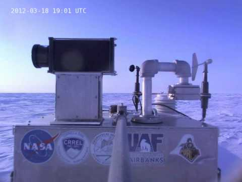 IceLander 02 (Chukchi Sea) Hourly Webcam Movie