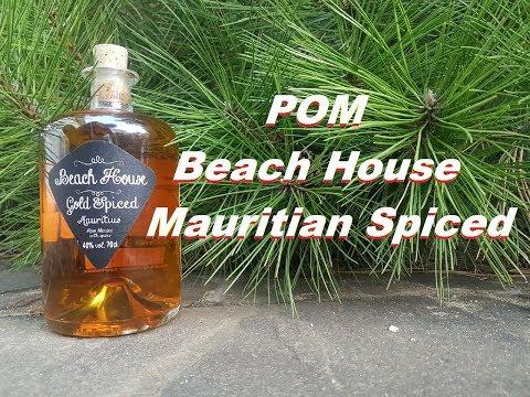 Ром Beach House Mauritian Spiced, дегустация.