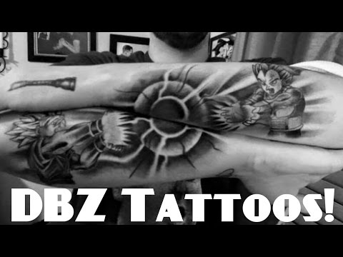 Amazing Dragon Ball Z / Super Tattoos !