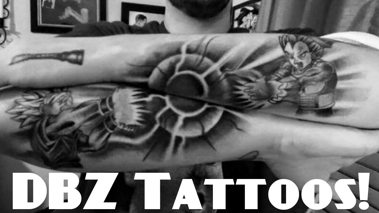 Amazing Dragon Ball Z Super Tattoos Youtube