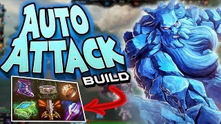 Smite: AUTO ATTACK Ymir Build - GET BOPPED SO HARD!
