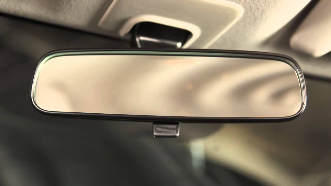 Nissan rearview mirror