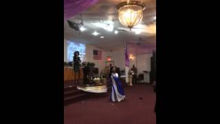 Praise and worship dance (ancient of days)