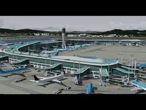 [ P3D V4 4 // VATSIM ] PIS INCHEON RKSI 리뷰~~~