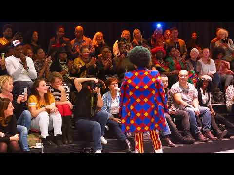 Lady Africa fashion show x Afrovibes in Theater aan het Spui 2017