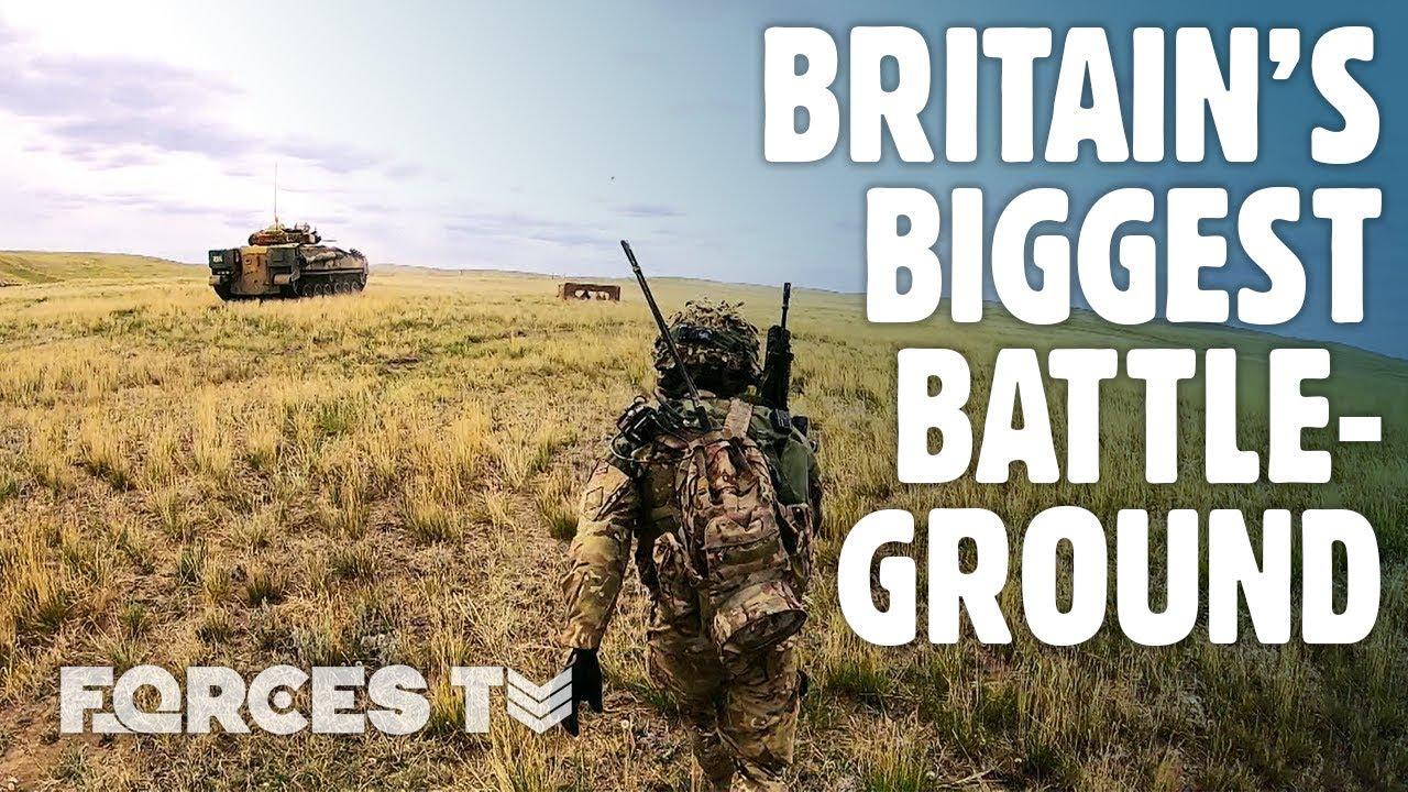 A Look Around Britain's BIGGEST Battleground • BATUS