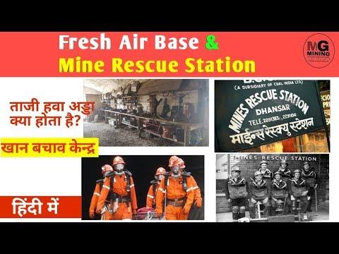 What Is Fresh Air Base   Mine Rescue Station   MINING GURUKUL