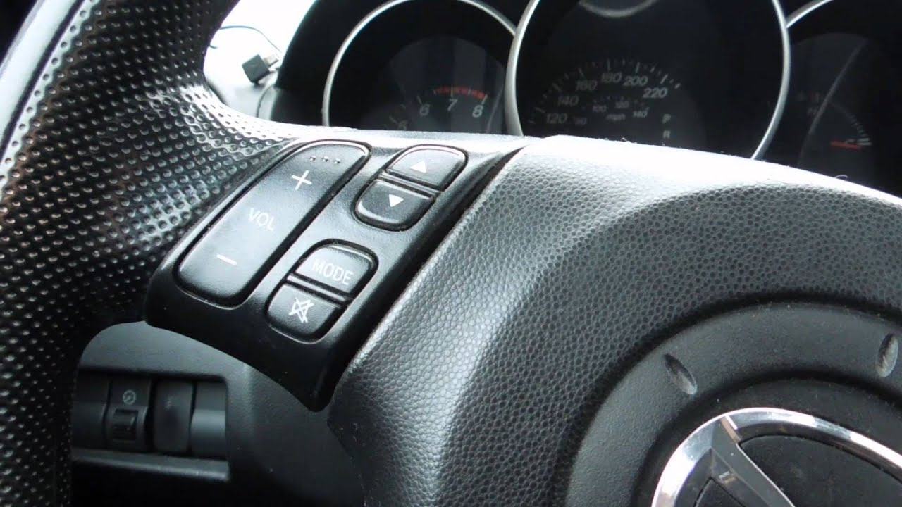 how to install a aftermarket stereo and lcd mod in mazda 3 2006